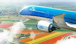 KLM reduces the frequency of flights to Kiev