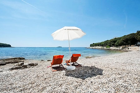 Thematic beaches of Croatia