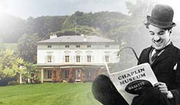The Charlie Chaplin Museum in Switzerland