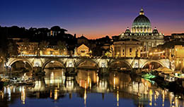 Promotion from Alitalia: free stopover in Rome