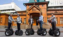 In Almaty there are tours on Segways