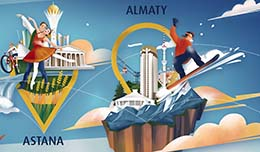 Things to do in Almaty for passengers of Air Astana