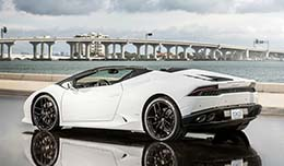 Lamborghini for guests of Waldorf Astoria