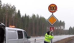 Speed limits in Finland