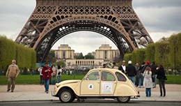 Entry to Paris for old cars is denied